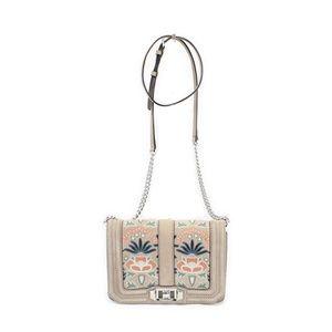 Rebecca Minkoff Love Nubuck Leather Crossbody Bag